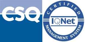 azienda certificata ISO 9001